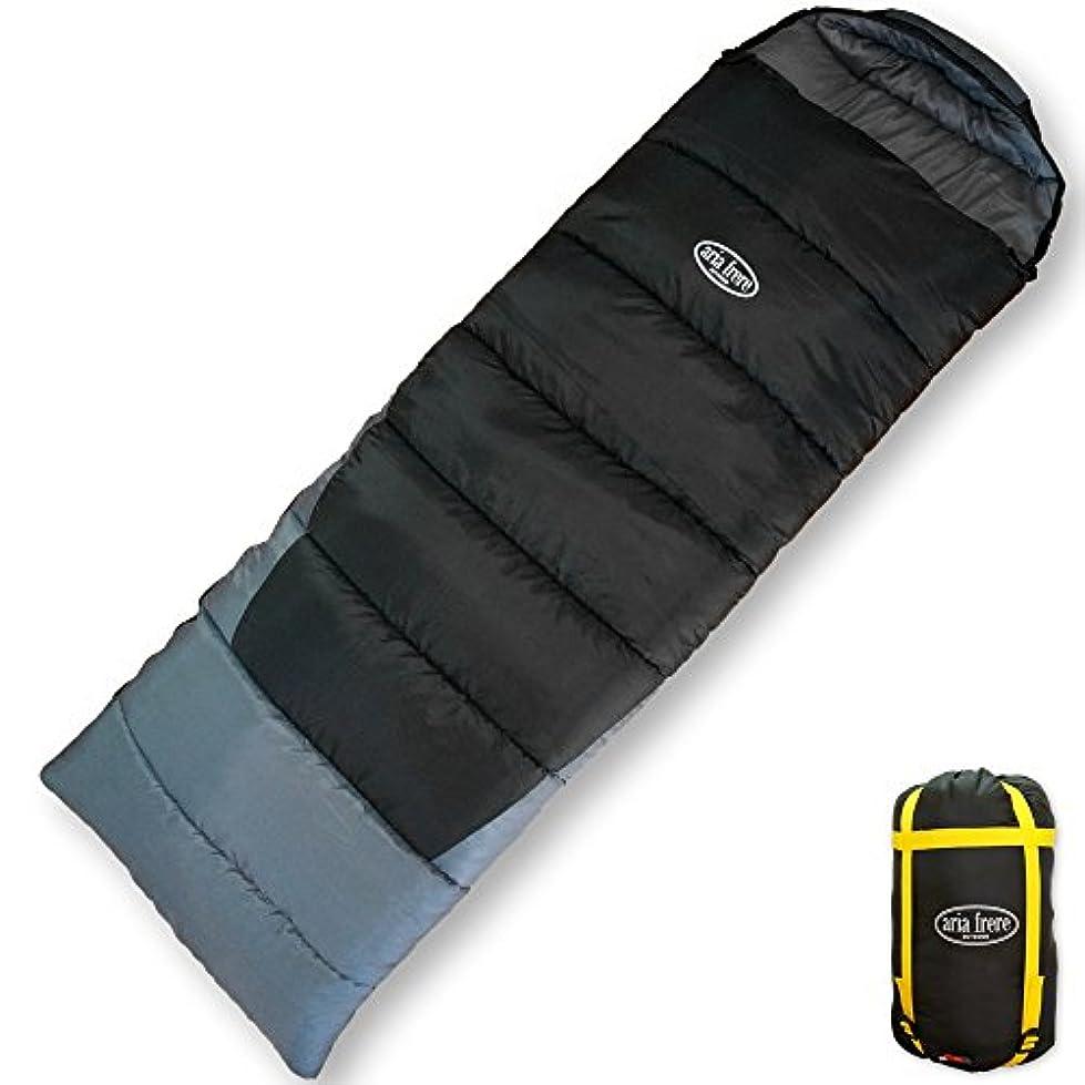 害虫同行文房具寝袋 シュラフ 封筒型 丸洗いできる寝袋 【最低使用温度-10度】 スリーピングバッグ キャンプ アウトドア 冬用 軽量