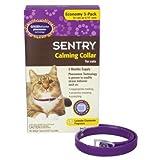 猫ちゃんの ストレス軽減する首輪 Calming Collar for Cats (3個入り) (海外直送品)