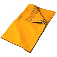 Gildan G129 DryBlend Fleece Stadium Blanket - Gold - One Size by Gildan [並行輸入品]