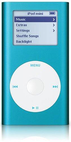 Apple iPod mini Blue 4GB w/USB [M9802J/A]