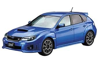 青島文化教材社 1/24 ザ・モデルカーシリーズ No.29 スバル GRB インプレッサWRX STI 2010 プラモデル