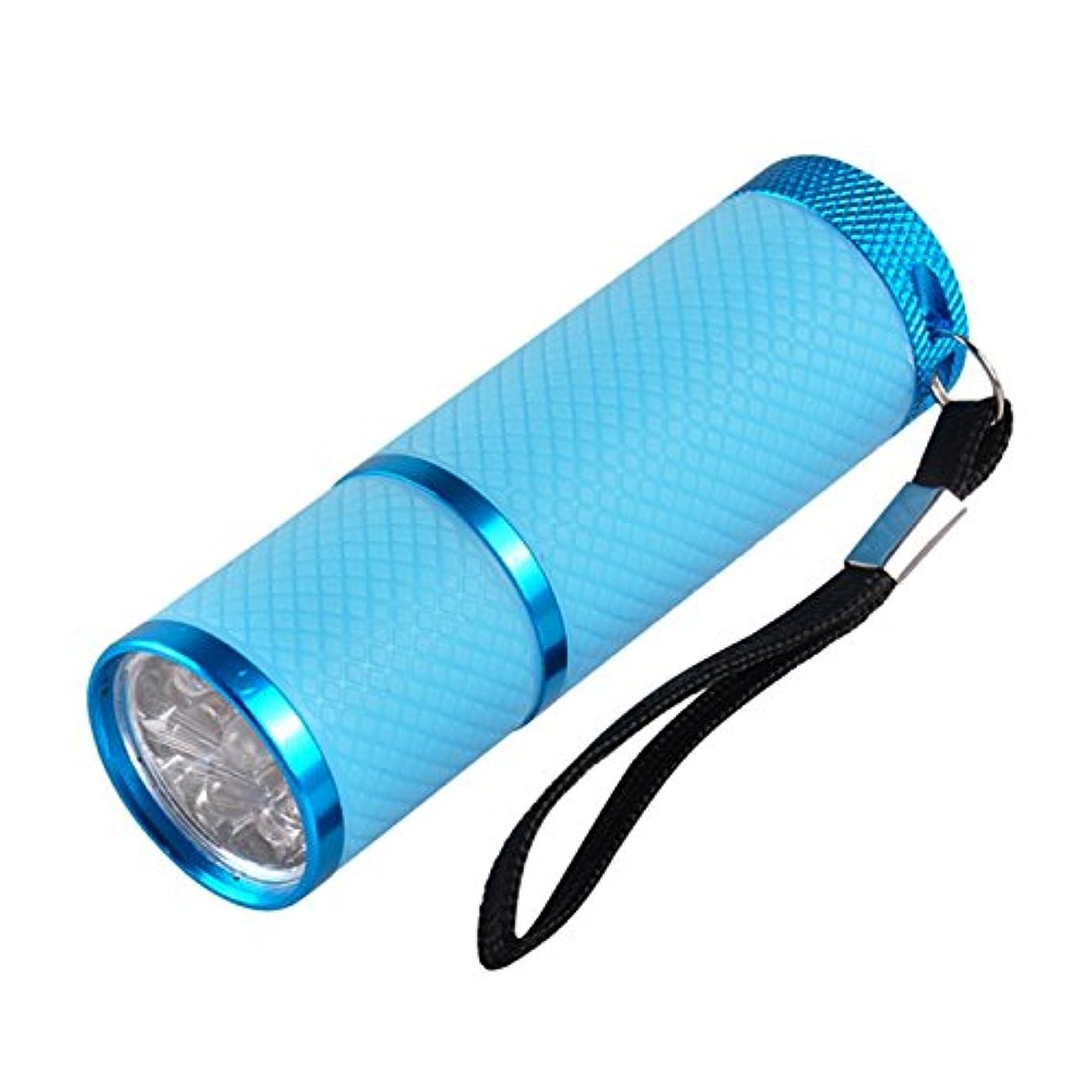 白菜重々しい行為ネイル?レジンクラフト LED UVライト ブルー BY-NL550 ネコポス発送 送料無料