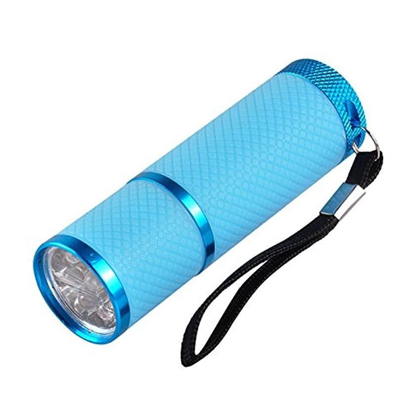十分な電信説得ネイル?レジンクラフト LED UVライト ブルー BY-NL550 ネコポス発送 送料無料