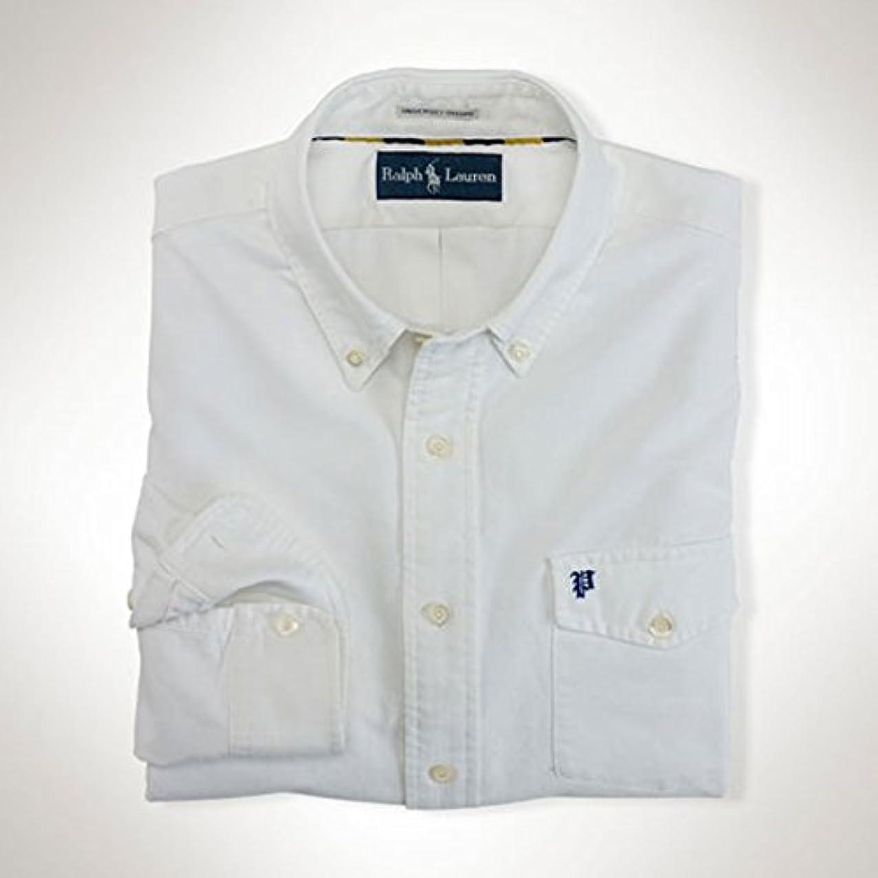 バトル蚊楽観的[ポロ ラルフローレン] POLO RALPH LAUREN 正規品 メンズ 長袖シャツ Custom Monogram Oxford Shirt 並行輸入品 (コード:4074890501)