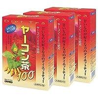 オリヒロ ヤーコン茶100 30H【3箱セット】