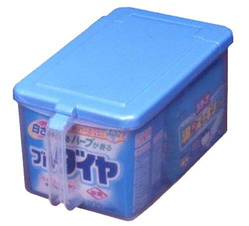 平和工業 キッチン ストッカー 取手付き 浅型 ブルー