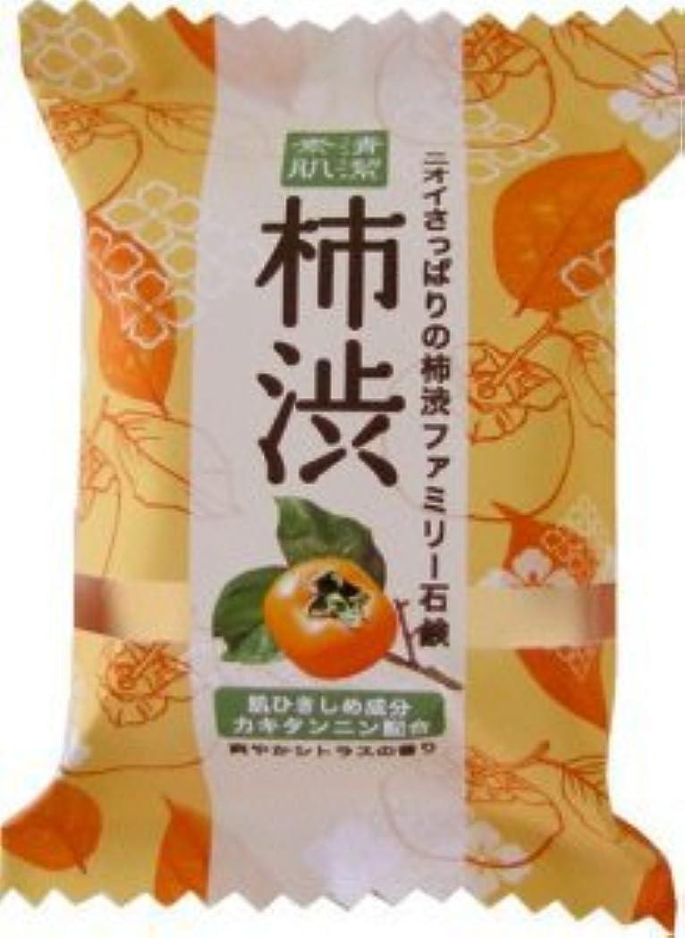 区咲くバンガローペリカン石鹸 ファミリー柿渋1P PKSBSP