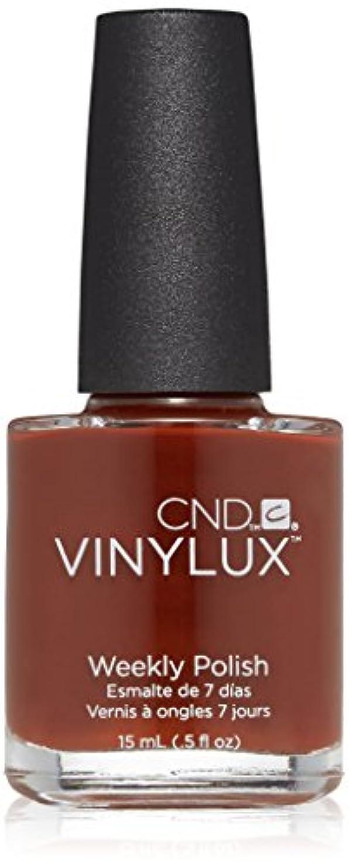 乳製品怖い安全なCND Vinylux週刊マニキュア、0.5 FL。オンス バーントロマンス バーントロマンス