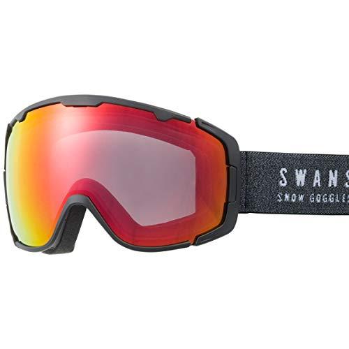 SWANS(スワンズ) スキー スノーボード ゴーグル くもり止め ミラー スキー スノーボード 150-MDHS MBK