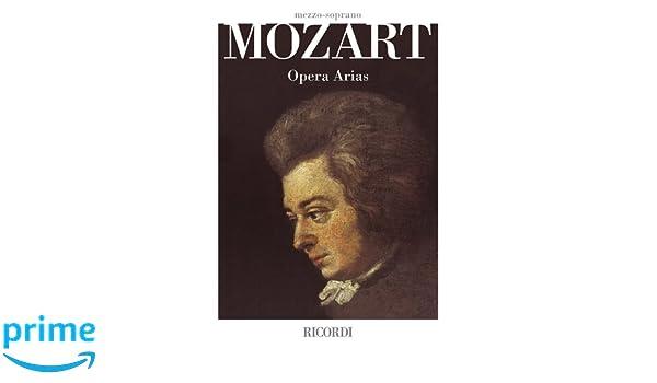 Mozart Opera Arias Mezzo-Soprano
