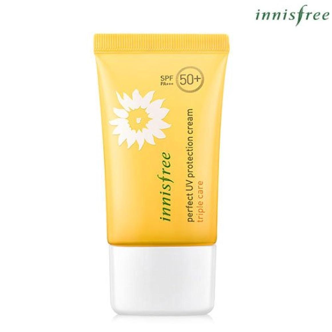 ターゲット怒ってスリップシューズ[INNISFREE]イニスフリーパーフェクトUV プロテクション クリームトリプルケアSPF50+ PA+++ 50mL perfect UV protection cream triple care SPF50+ PA...