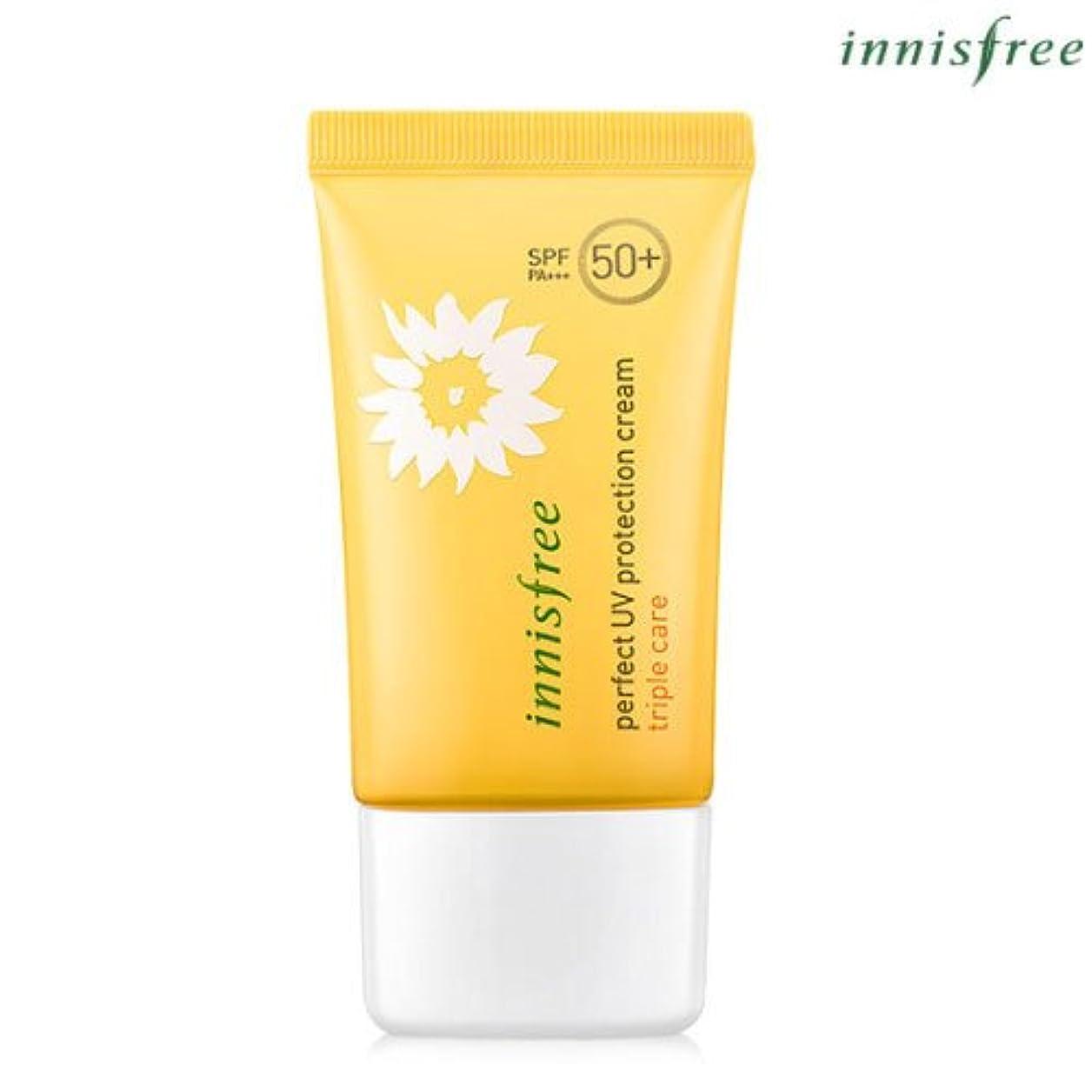呼び出す仲人ヘロイン[INNISFREE]イニスフリーパーフェクトUV プロテクション クリームトリプルケアSPF50+ PA+++ 50mL perfect UV protection cream triple care SPF50+ PA...