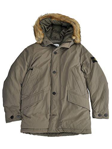 (ストーンアイランド)STONEISLAND 42926 メンズ ミリタリーダウンジャケット オリーブ 正規取扱店 Lサイズ