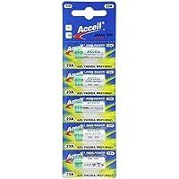 Accell アルカリ乾電池 12V-23A (A23 23AE LRV8-1BP MN221 V23GA 181A 3LR50 互換) 23A 水銀・鉛0% オーディオファン (1シート(5個))