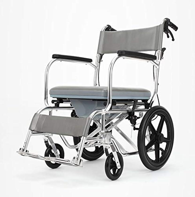 労苦奇跡的な根絶する車椅子折りたたみ式多機能安全ケア、ブレーキ、ポータブルトロリー、身体障害者用屋外車椅子