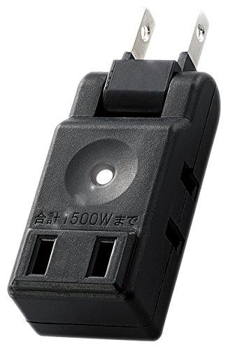エレコム 小型タップ/コンパクト/3個口/ブラック AVT-M01-23BK 1個
