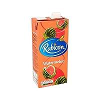 スイカジュースドリンク1リットル (Rubicon) (x 2) - Rubicon Watermelon Juice Drink 1L (Pack of 2)