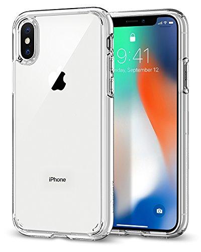 【Spigen】 スマホケース iPhone X ケース 対応 全面クリア ...