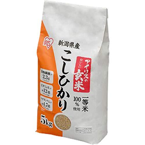 アイリスの玄米 新潟県産こしひかり 5kg