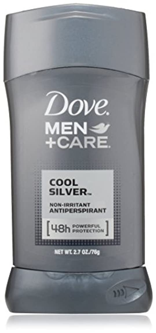 貫通する上級革新Dove Men Care Antiperspirant, Cool Silver 2.7 oz by Dove [並行輸入品]