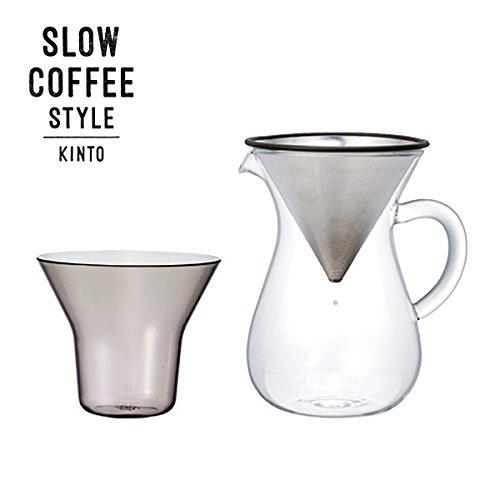 SLOW COFFEE STYLE コーヒーカラフェセット ステンレス 300ml(イーユニット 生活雑貨 おしゃれ オシャレ雑...