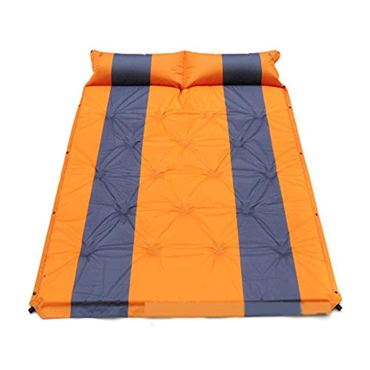 確かに軽蔑する床屋外登山キャンプテント寝袋二重床マット屋外テント水分パッド
