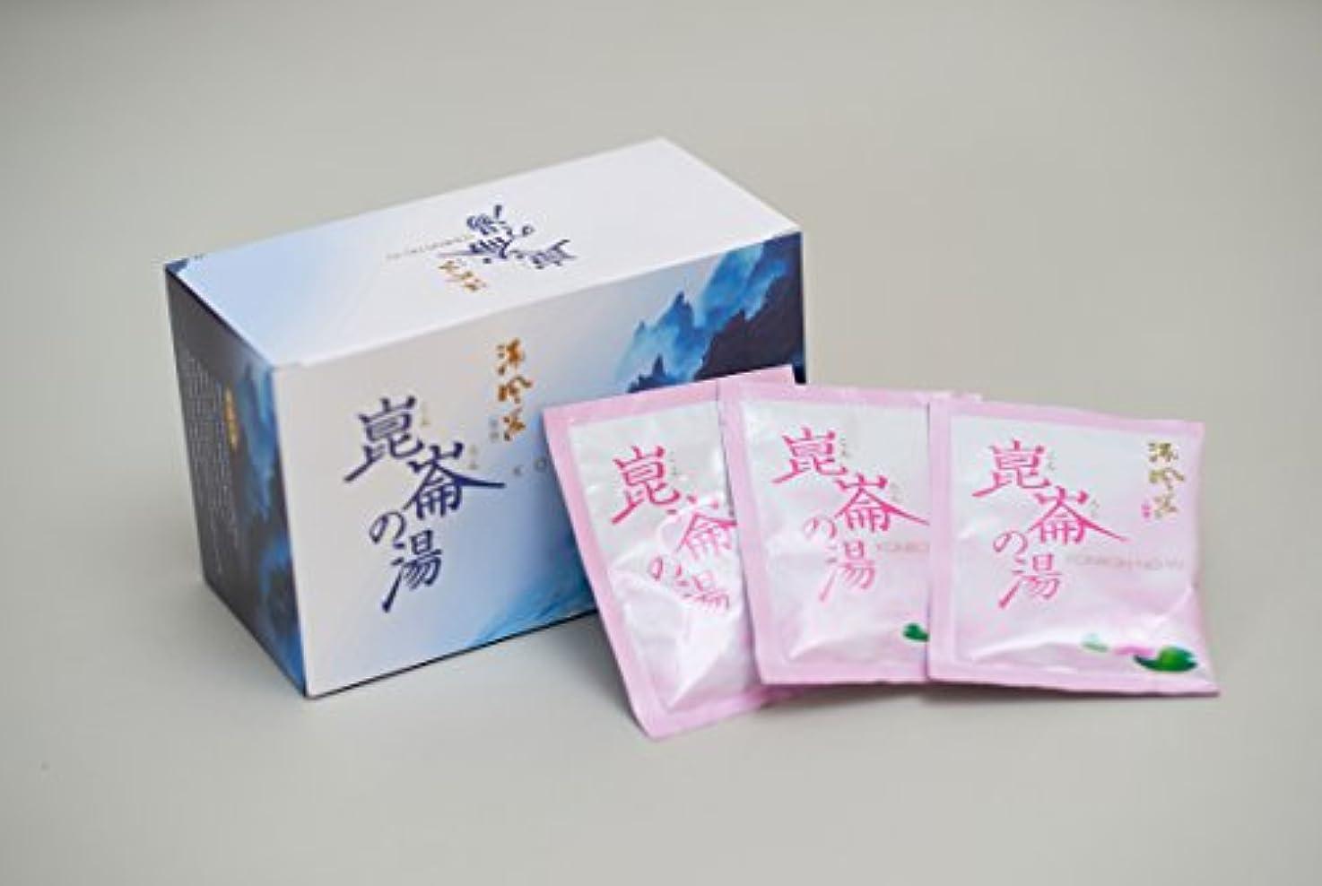 知覚寄付章酒風呂入浴剤「崑崙の湯」 粉末タイプ (本体)(1箱当たり 清酒4升の量に相当)