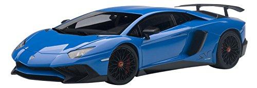 AUTOart 1/18 ランボルギーニ アヴェンタドール LP750-4 SV ブルー 完成品