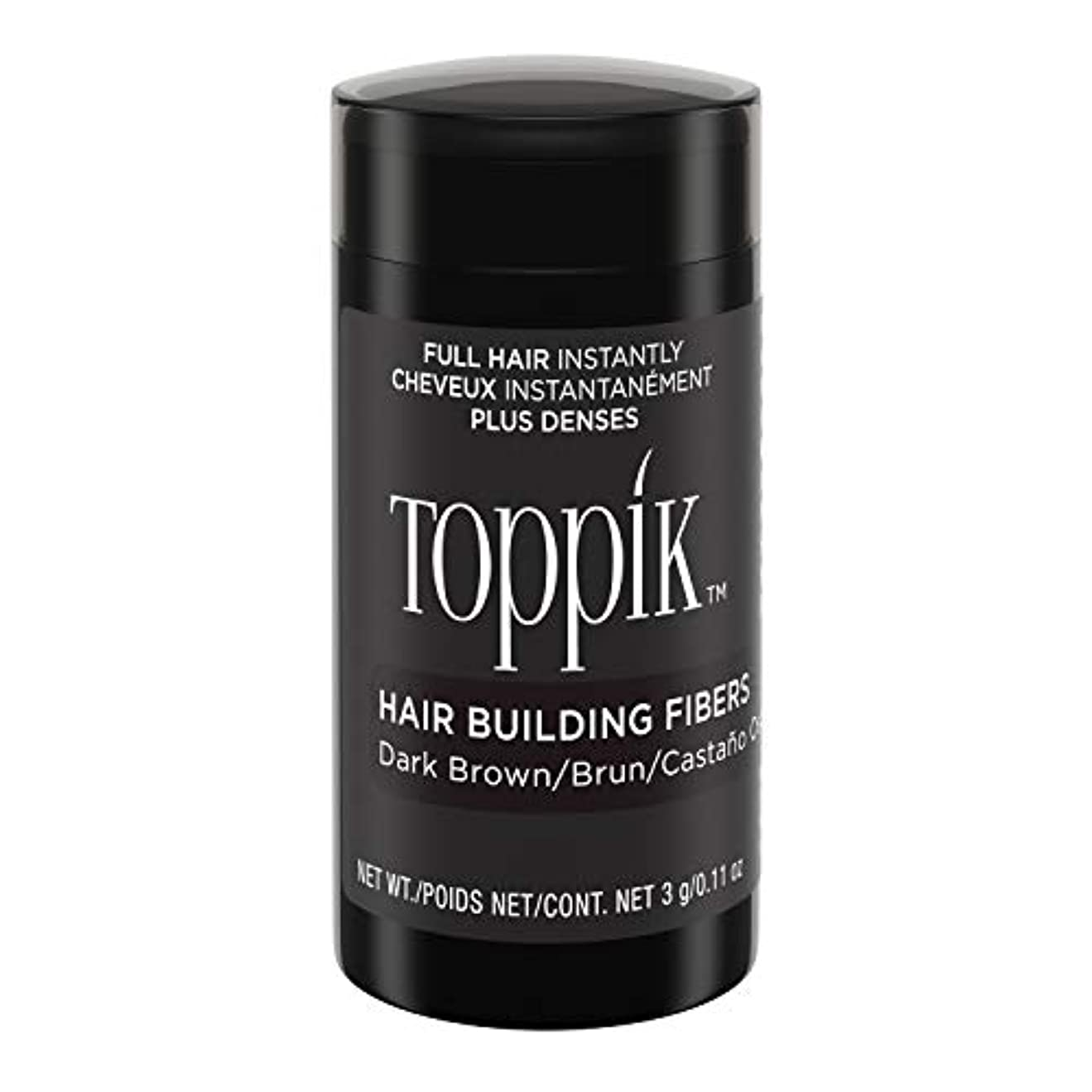 頼む見通し体現するToppik Hair Building Fibers - Dark Brown 0.09 oz. small travel size by Spencer Forrest