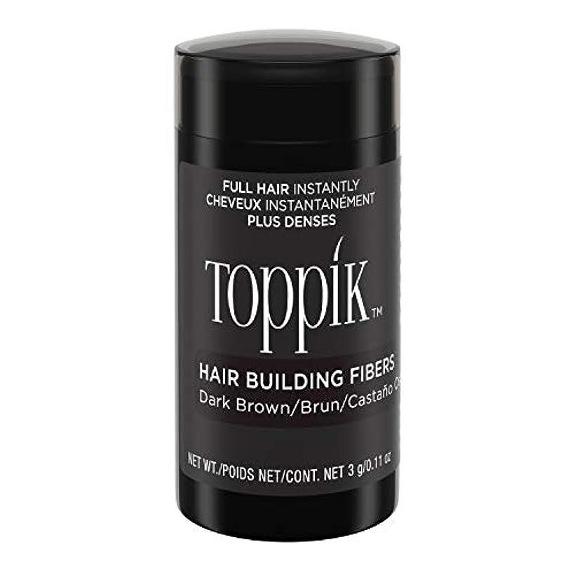 クリア合併症郊外Toppik Hair Building Fibers - Dark Brown 0.09 oz. small travel size by Spencer Forrest