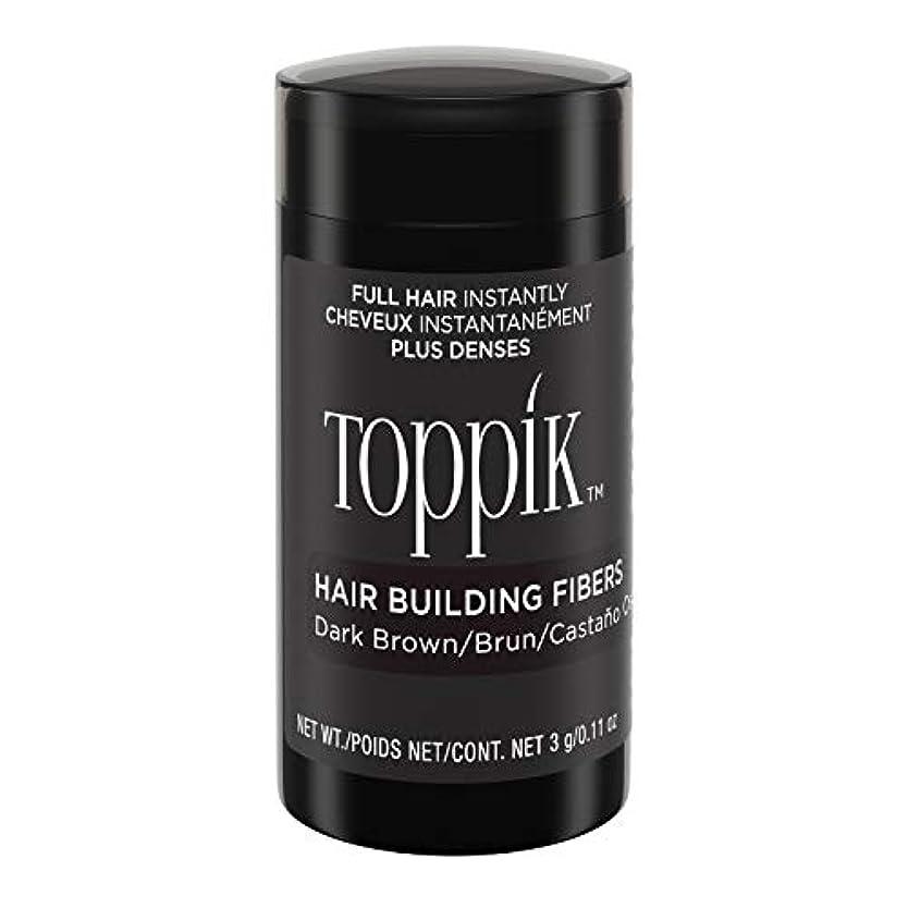 凍結一晩ベンチャーToppik Hair Building Fibers - Dark Brown 0.09 oz. small travel size by Spencer Forrest