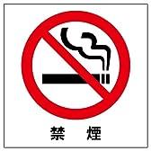 禁煙 ステッカー シール 15cm×15cm