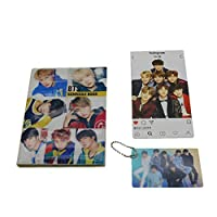 BTS Bangtan Boys 2019 Scheduler Schedule Book Planner Notebook with BTS Photo Card Key Chain,Instagram Card [並行輸入品]