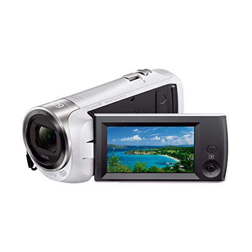 ソニー SONY ビデオカメラ HDR-CX470 32GB 光学30倍 ホワイト Handycam HDR-CX470 W