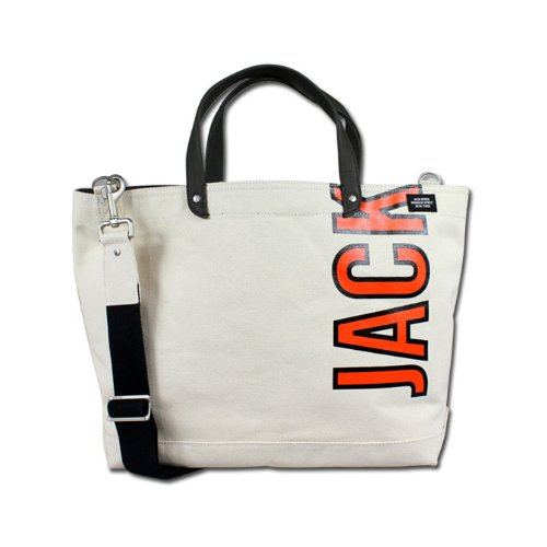 (ジャック スペード) JACK SPADE 2WAY トートバッグ [ナチュラル] W9RU0038 114 COAL BAG キャンバス メンズ レディースNATURAL NATURAL (並行輸入品)