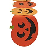 DII Spooky Jack O' Lantern Halloween Table Runner for Halloween, Dinner Parties and Scary Movie Nights - 14x72""