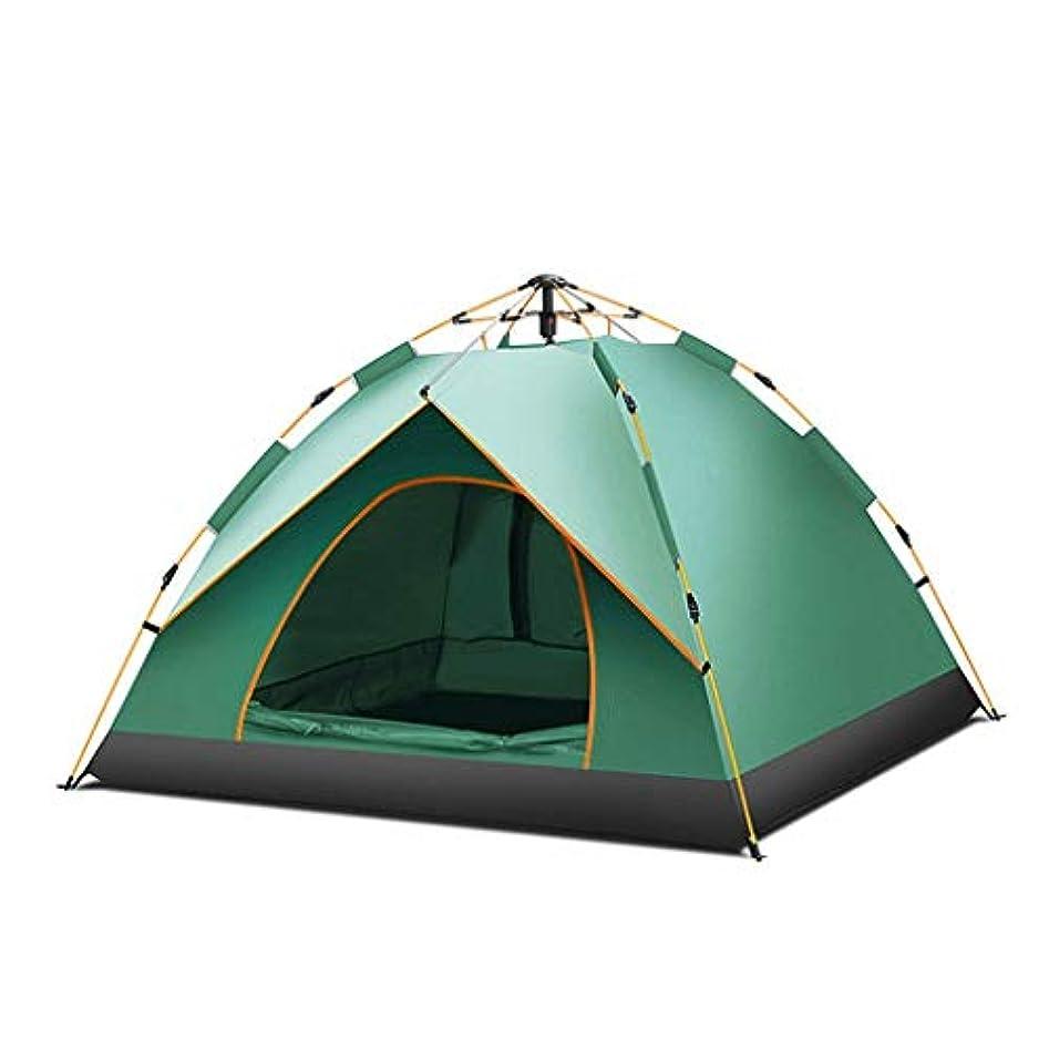 熱契約起こりやすいテント屋外多人数キャンプテント自動テント3-4人厚い防雨シングルキャンプキャンプキャンプ (Color : A, Size : 200cm*200cm*135cm)