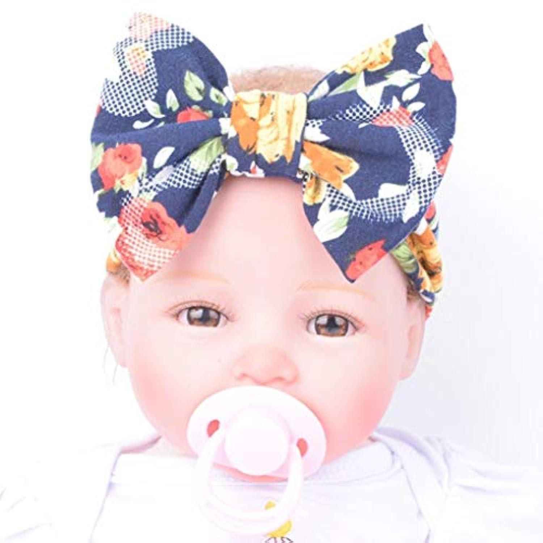 Voberry ®ベビーGirls Headwrap Headdressターバンヘッドバンドwith Big Bow