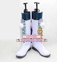 【サイズ選択可】女性24.5CMコスプレ靴 ブーツ252487夢王国と眠れる100人の王子様 夢100雪の国・スノウフィリアシュニー