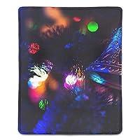 マウスパッド 滑り良い 滑り止め おしゃれ 水洗い PC ラップトップ オフィス用 ゲーム向け クリスマスオーナメントベル レーザー&光学式マウス対応 180*220*3mm (抗菌性?静電特性に優れています)