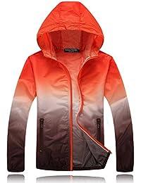メンズ アウトドア 超軽量 ジャケット 日焼け止め UVカット 通気性 速乾性 ウィンドブレーカー 山登り服 サイクルウエア