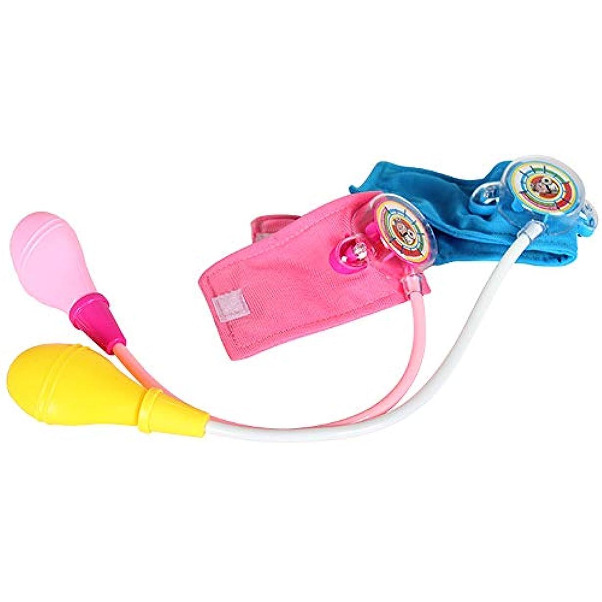 モーター薬技術的なTakefuns 血圧計のおもちゃ 血圧を測るおもちゃ シミュレーション医療玩具 ままごと ごっこ遊び こども 子供キャラクター体験のおもちゃ