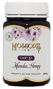 モソップ・マヌカハニー UMF5+ (MGO83+相当) /500g (Mossop's Honey) UMFはちみつ協会認定品