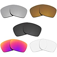 Glintbay 5 Pairs Lenses for Oakley Holbrook OO9102 Pack-BSMBC