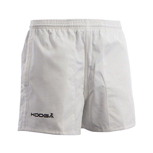 (クーガ) KooGa メンズ マレーフィールド ラグビー ドリルショーツ スポーツショーツ トレーニングパンツ ボトムス ズボン (S) (ホワイト)