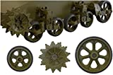 フューリーモデルズ 1/35 M5/M5A1軽戦車/M8自走砲用転輪&サスペンションセット プラモデル用パーツ FM35014