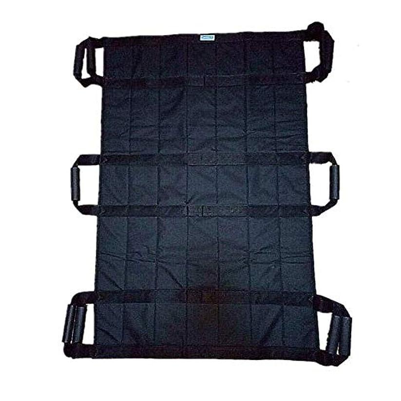 側面背景メモトランスファーボードスライドベルト-患者リフトベッド支援デバイス-患者輸送リフトスリング-位置決めベッドパッド