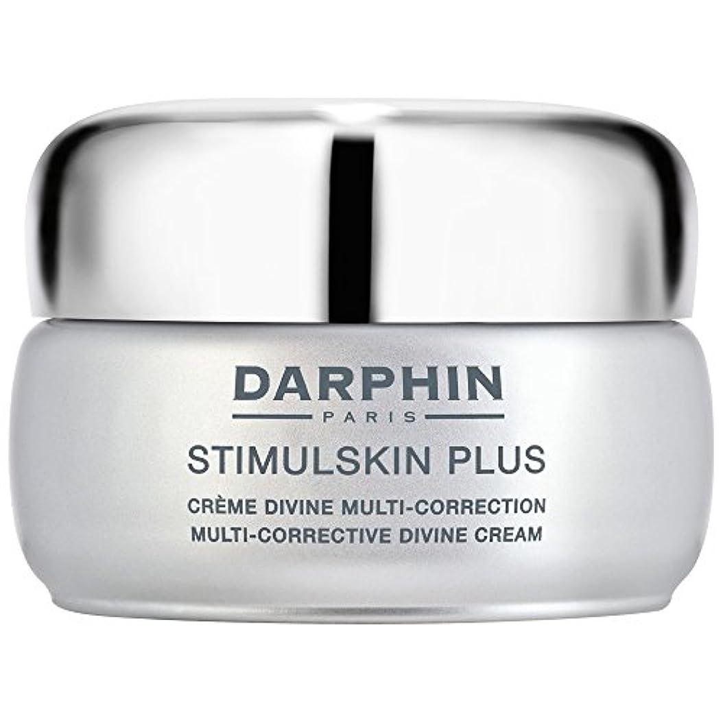 最大気候の山適性スティプラスマルチ是正神のクリームダルファン、50ミリリットル (Darphin) (x6) - Darphin Stimulskin Plus Multi-Corrective Divine Cream, 50ml (...