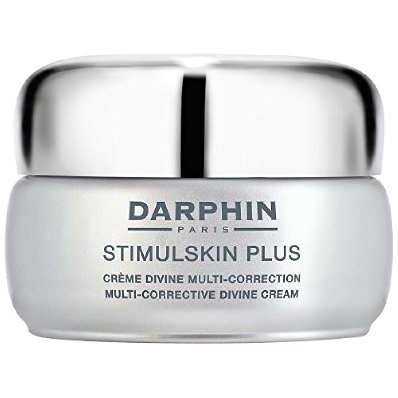 業界理容師飾り羽スティプラスマルチ是正神のクリームダルファン、50ミリリットル (Darphin) (x6) - Darphin Stimulskin Plus Multi-Corrective Divine Cream, 50ml (Pack of 6) [並行輸入品]