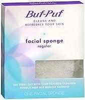 Buf-Puf Regular Facial Sponge 1 Each (Pack of 4) [並行輸入品]